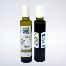 Blended Olive Oil-Basil-The Greek Pantry