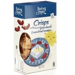 Crisps-With Extra Virgin Olive Oil, Feta Cheese PDO & Sundried Tomatoes  Cat: Breadsticks Tsa