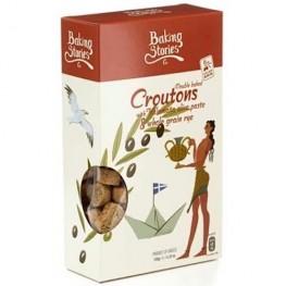 Croutons-With Kalamata PDO Olive Paste & Wholegrain Rye  Cat: Breadsticks  Ref: A44-TSA